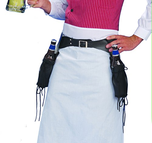 Cowboy Bartender Costume (Bartender Beer Bottle Holster Belt)