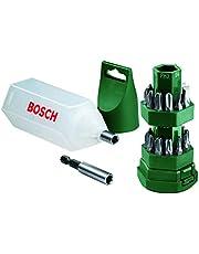 Bosch Vidalama Seti, Yeşil, 25 Adet