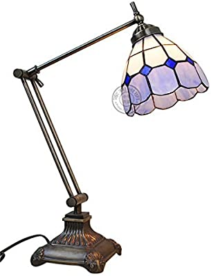 Dale Tiffany Tt100016 Noir Mission Table Lamp Mica Bronze