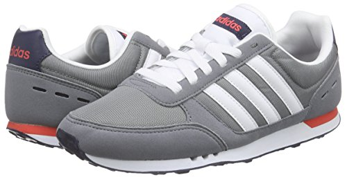 59688be716 Adidas - Neo City Racer - F99332 - Color  Grey-Navy Blue-Red - Size  12.5   Amazon.ca  Shoes   Handbags
