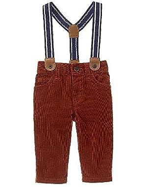 Baby Boy Suspender Pants
