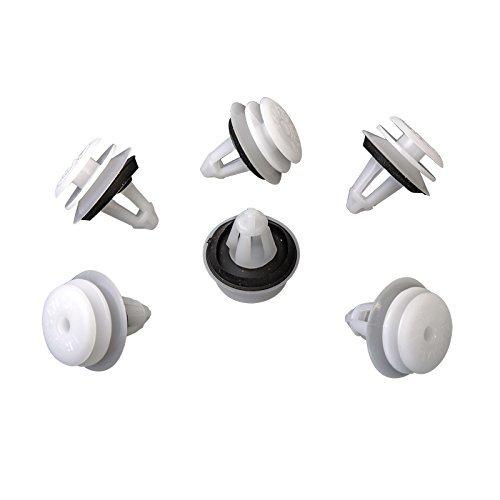 10 X INTERNO pannello della clip con guarnizione Pom fissaggio graffette | CL 0064 MYBA-S