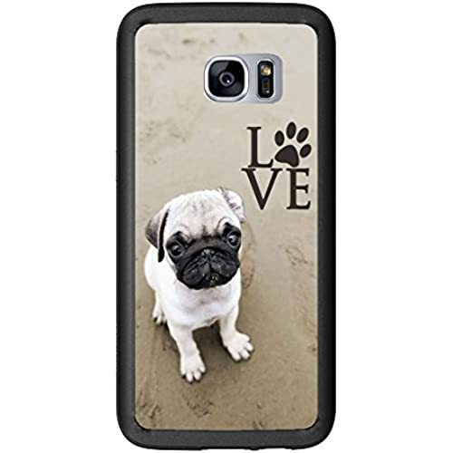 Pug Love With Paw For Samsung Galaxy S7 Edge G935 Case Cover by Atomic Market Sales