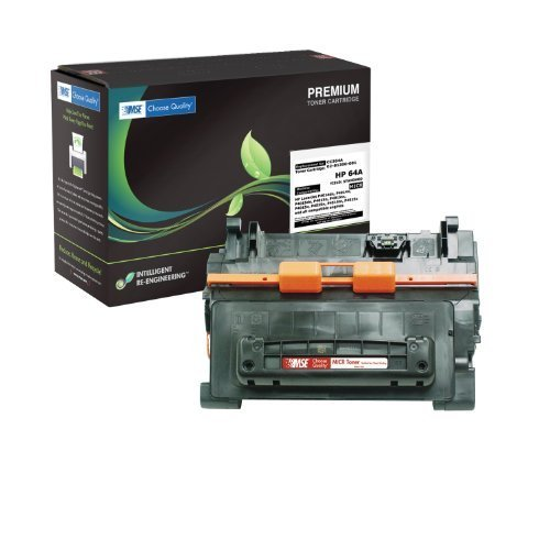 64a Compatible Micr Toner (MSE02216415 Remanufactured Premium MICR Toner Cartridge for HP 64A)
