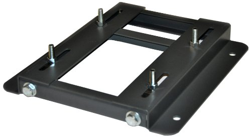 Adjustable Steel Motor Mounting Base, For NEMA Frames 254, Bolt Size 1/2 Inch, Length 17 3/4 Inches, Height 2 Inches, Width 15 1/8 Inches