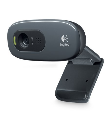Logitech C270 Desktop or Laptop Webcam, HD 720p Widescreen for Video Calling and Recording (Certified - Hi Speed Cam