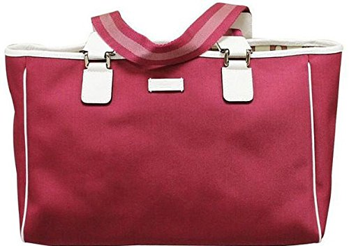 Gucci Fuschia Hot Pink Tote Handbag 264216 (Purse Bag Handbag Tote Gucci)