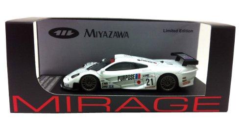 1/43 McLaren F1 GTR 1999 Fuji 1000km #21 (ホワイト) 宮沢模型特注モデル 「MIRAGE ミラージュシリーズ」 8534の商品画像