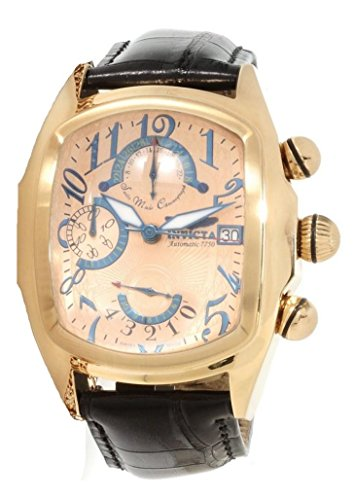 Invicta 12600 Dragon Lupah Valjoux 7750 Chronograph Date Mens Watch