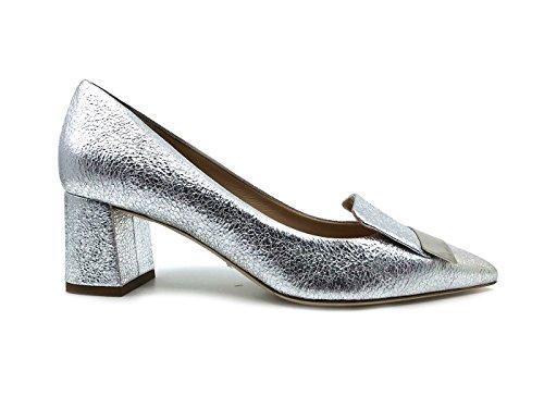 de Zapatos Vestir de Piel Plateado The para Mujer Seller qvSw5E