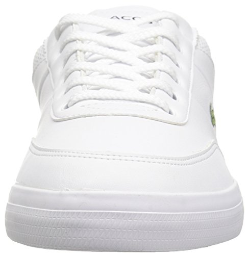 Men's Master Leather Nvy Lacoste Sneakers Court White 6wCdqx7