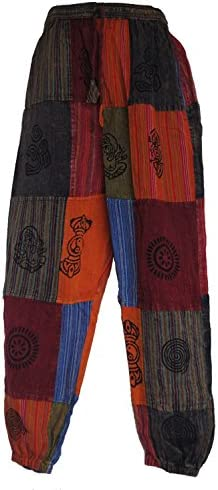 Népalaise patchwork Pantalon