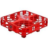 QWinout 2.4GHZ 1602C Super Micro RC Quadcopter Box RTF FPV Camera Mini 4-axis Aircraft Drone Red (WIFI Version)