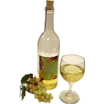White Wine Set Glass Fake Drink