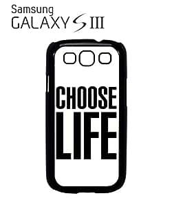 Choose Life Geek Mobile Cell Phone Case Samsung Galaxy S3 Black