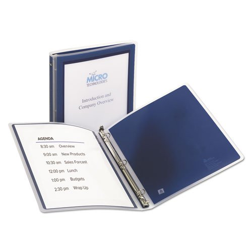 Flexi-View Binder with Round Rings, 1/2