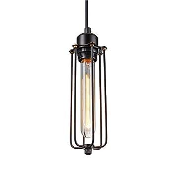 claxy ecopower vintage edison industrial loft hanging light mini pendant cage lamp guard lantern cage lighting pendants