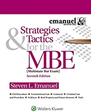 Strategies & Tactics for the MBE (Bar Rev
