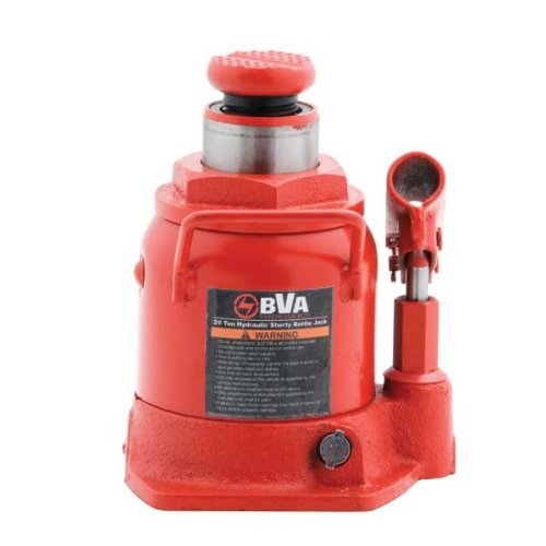 BVA Hydraulics J10209 20 Ton Manual Shorty Bottle Jack B00IZ5UJ80