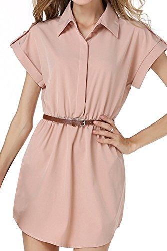 Buy belted maxi shirt dress - 5
