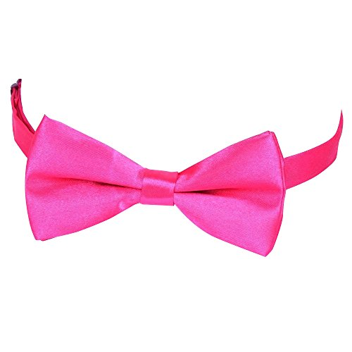 Verlike Rose Men's Bowtie Suits Tie Polyester Fashion Tied Pre Plain Red Fashion Bow Wedding Tie rxgnrOw5
