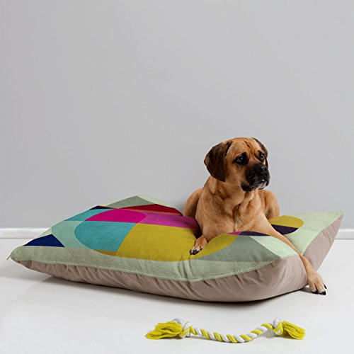 - Deny Designs Three of The Possessed Miro Pet Bed, 40 by 30-Inch
