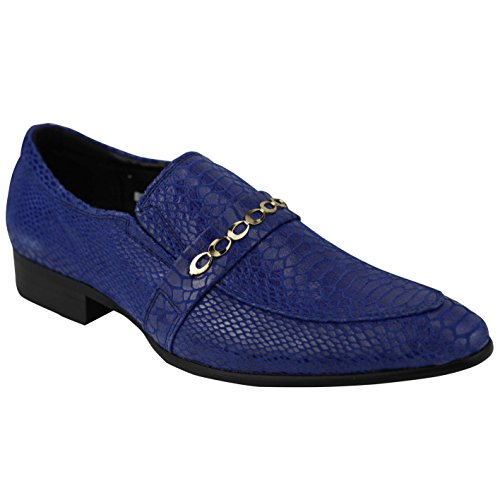 Xposed - Mocassini uomo, Blu (Blue), 40 EU