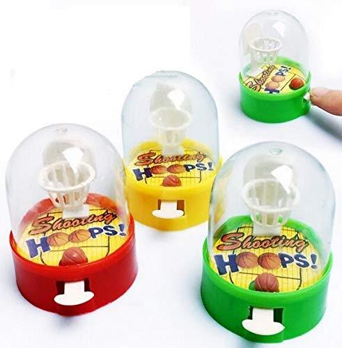 Auch 12 PCS Mini Finger Basketball Shooting Game Mini Handheld Desktop Table Basketball Game Toys for Children (Table Pc Game Handheld)