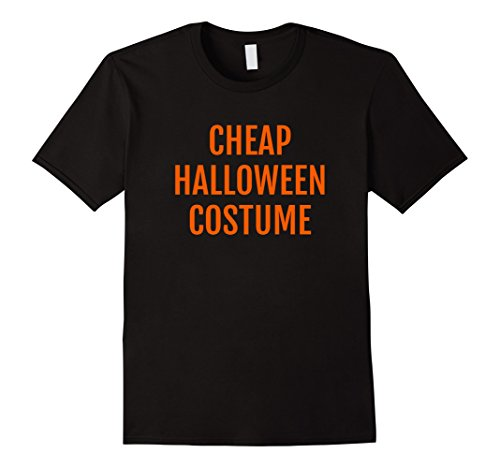 Mens Cheap Halloween Costume T-Shirt 2XL Black (Cheap Costume Ideas For Halloween)