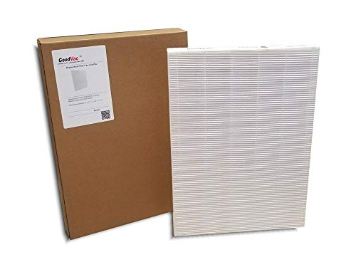 GOODVAC Replacement Filter for Sharp Series Fp-a60uw Air Purifier Replaces Fz-a60hfu