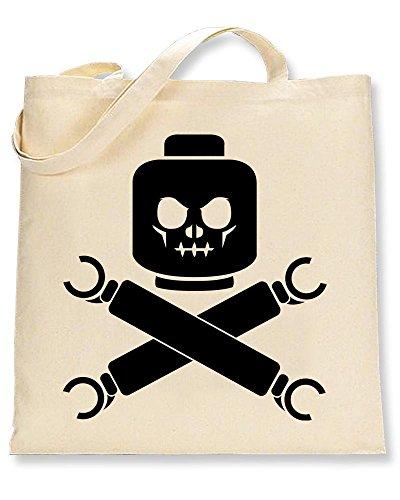 Lego Skull Bones Tote and Shaw Bag Tshirts fOBqHH
