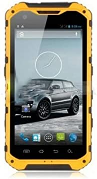 4.3 inch IP68 Waterproof 3G Rugged android 4.2 smartphone quad ...