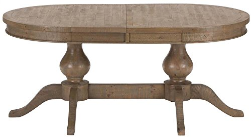 Jofran Dining Table with Double Pedestal Base
