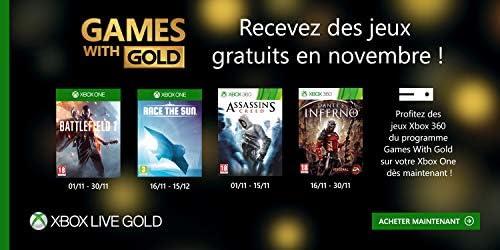 Abonnement Xbox Live Gold 6 mois | - Actualités des Jeux Videos