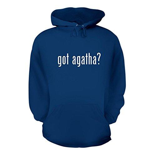 got agatha? - A Nice Men's Hoodie Hooded Sweatshirt, Blue, (Agatha Umbrella)