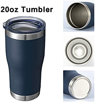 Thermal Coffee Travel Cup for Hiking Water Bottle-Gifts for Her Double Wall Vacuum Insulated Coffee Mug Cupbase Drinkware Camping Traveling 169 Stainless Steel Water Lid 20 Oz Tumbler-Rambler