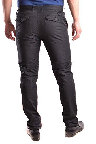 Burberry Pantaloni Uomo MCBI056218O Cotone Nero