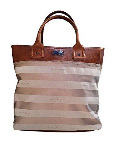 tommy-hilfiger-large-tommy-top-handle-womens-tote-handbag-beige-stripe-light-brown