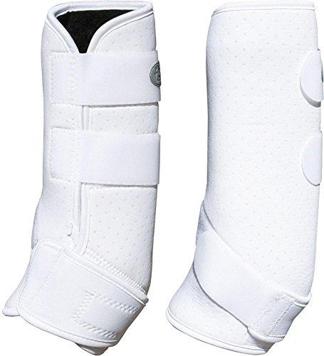 Fesselkopfgamaschen Dressur weiß L,XL 4er Set neu mit Etikett