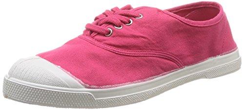 Bensimon Tennis - Zapatillas de Deporte de canvas mujer Rojo - Rouge (Carmin 308)