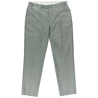 Calvin Klein Mens Pindot Extra Slim Suit Pants