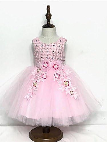 Kids Baby Girls Princess Dress Ruffel Cross Strap Party Summer Dresses Skirts