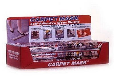"""Poly-Tak Protection Systems #CM320 24""""x50' Carp Mask DSP"""