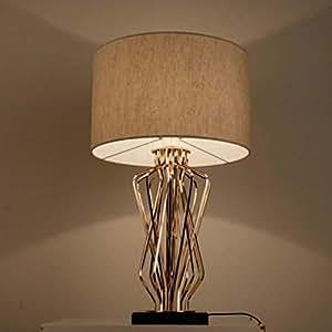 Amazon.com: DEED Table Lamp Living Room,Bedroom Bedside Desk ...
