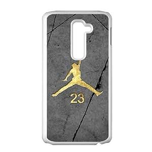 LG G2 Phone Case White Jordan logo QY7010545