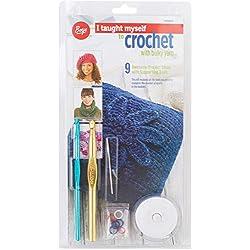 Boye Learn to Crochet for Beginners Kit, 9 Patterns (Renewed)