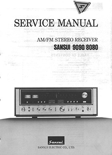 (9090/8080 AM/FM STEREO RECEIVER SERVICE MANUAL)