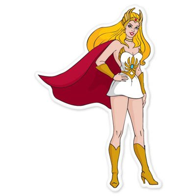 She-Ra Masters of the Universe vynil car sticker 3