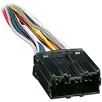 Fabulous Amazon Com Metra 70 1743 Wiring Harness For 1987 1994 Dodge Wiring 101 Cajosaxxcnl