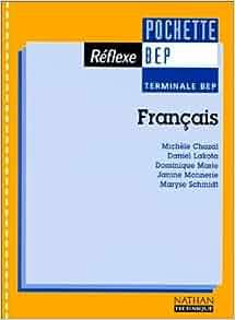 Français, terminale BEP (pochette réflexe), élève